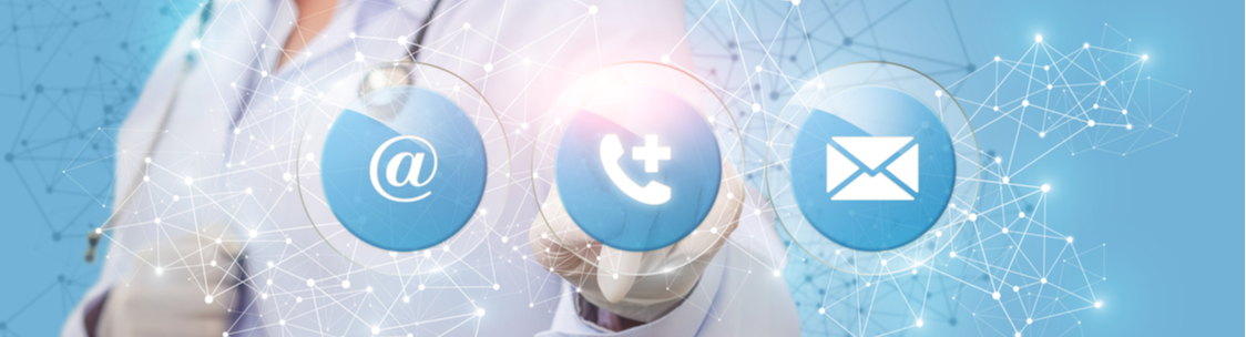 Building a contact centre in a medical field